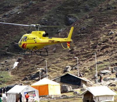 09 कंपनियां देगी केदारनाथ में हेली सेवाएं